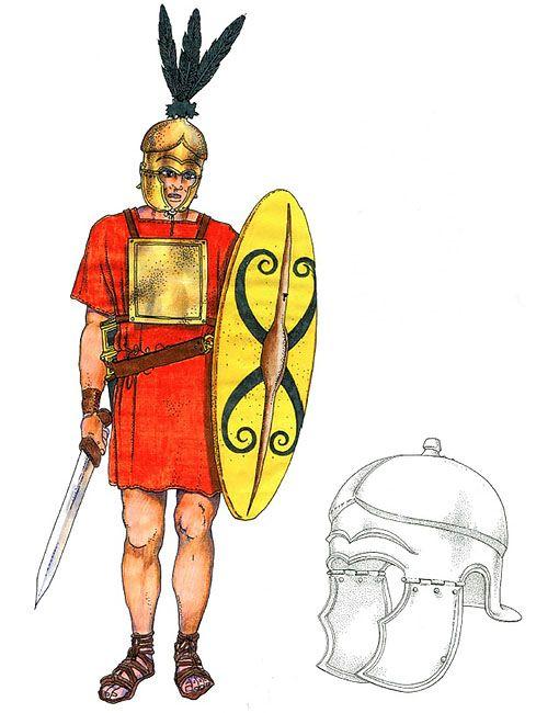 """Princeps, III secolo  aC"", Marcella Mattesini"