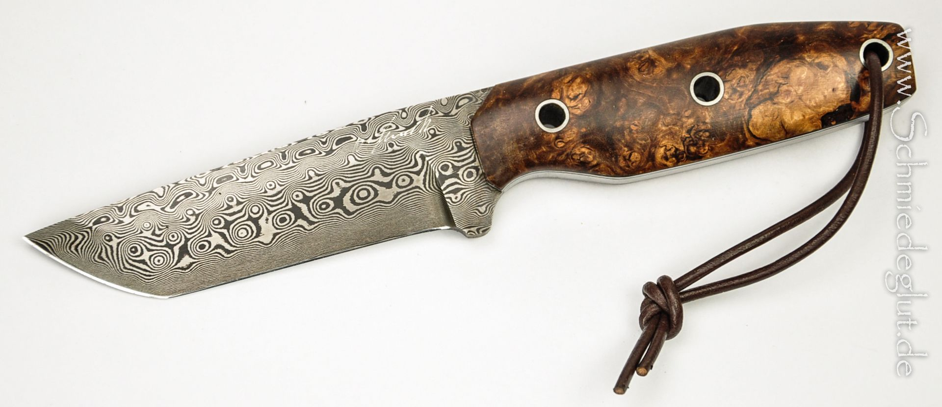 100% handmade (Germany) Bow Hunter Knife by Schmiedeglut | Outdoor ...