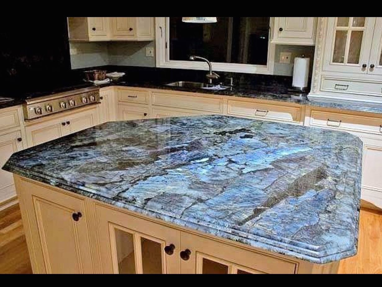 Wow labradorite counter top kitchen