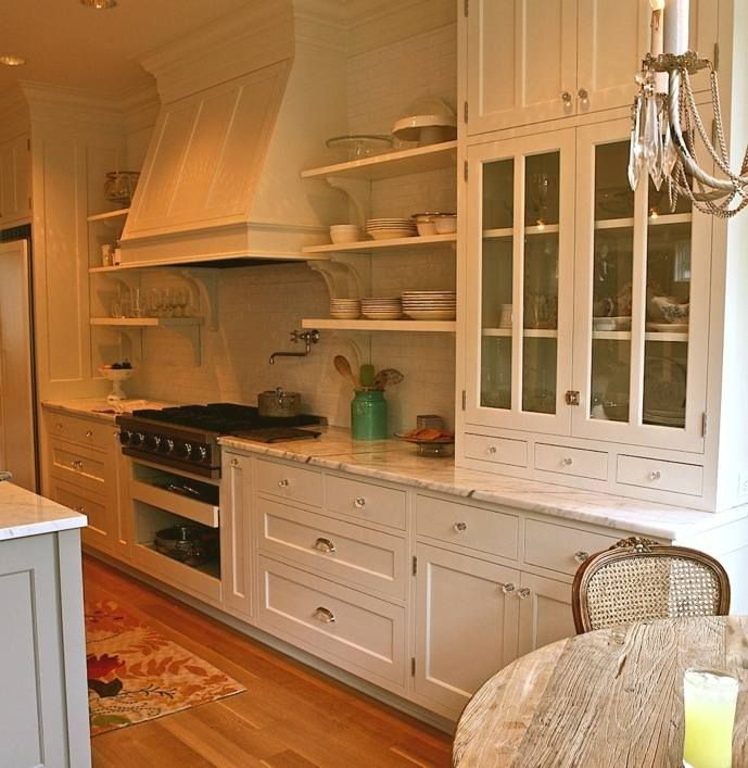 Kitchen Cabinets In Seattle: Ballard Cabinets - Cabinet Resting On Counter