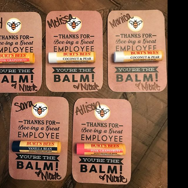 VOLUNTEER APPRECIATION Gift- You're the Balm Chapstick Thank You Cards with Instant PDF Download