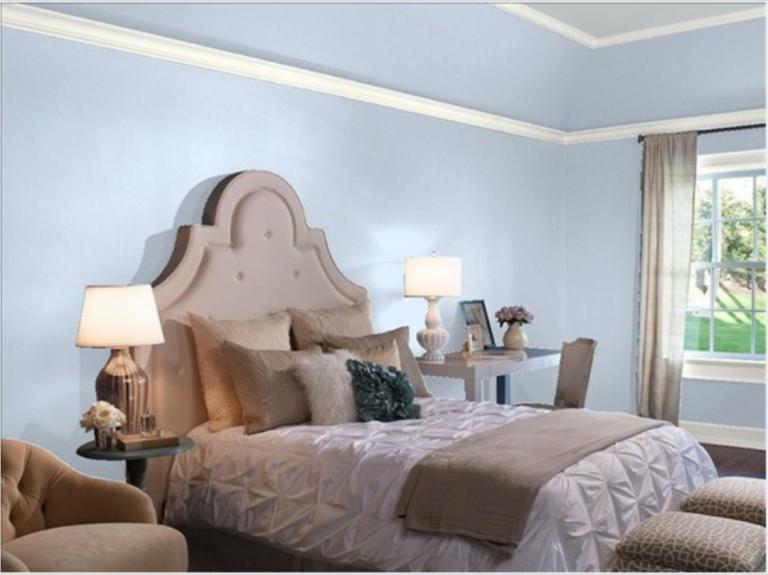 Calming Paint Colors for Bedrooms Benjamin moore