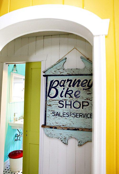 Barney Bike Shop Love House Pinterest Bike shops, Colorful