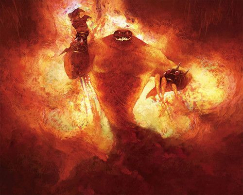 World of Warcraft. Fire Elemental.