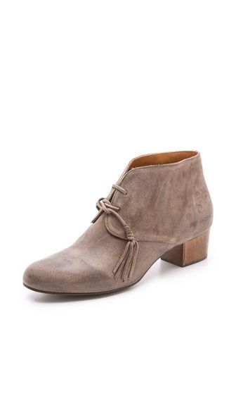 Kaelen Lace Up Booties on Low Heel | Lace up booties, Shoes and Lace