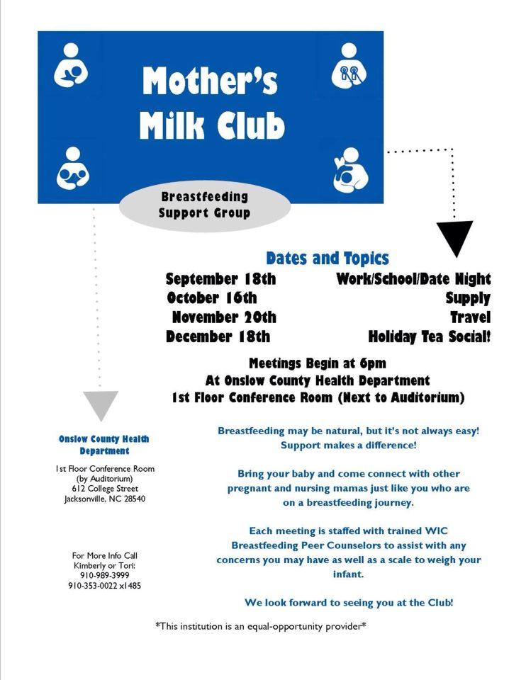New Breastfeeding Support Group
