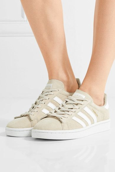 hot sale online ac448 87f03 adidas Originals   Campus suede sneakers   NET-A-PORTER.COM