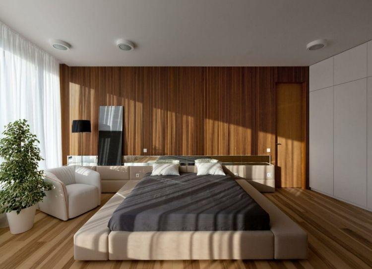 Farbe Gruen Anregung Schlafzimmer Gestaltung Warm Ambiente