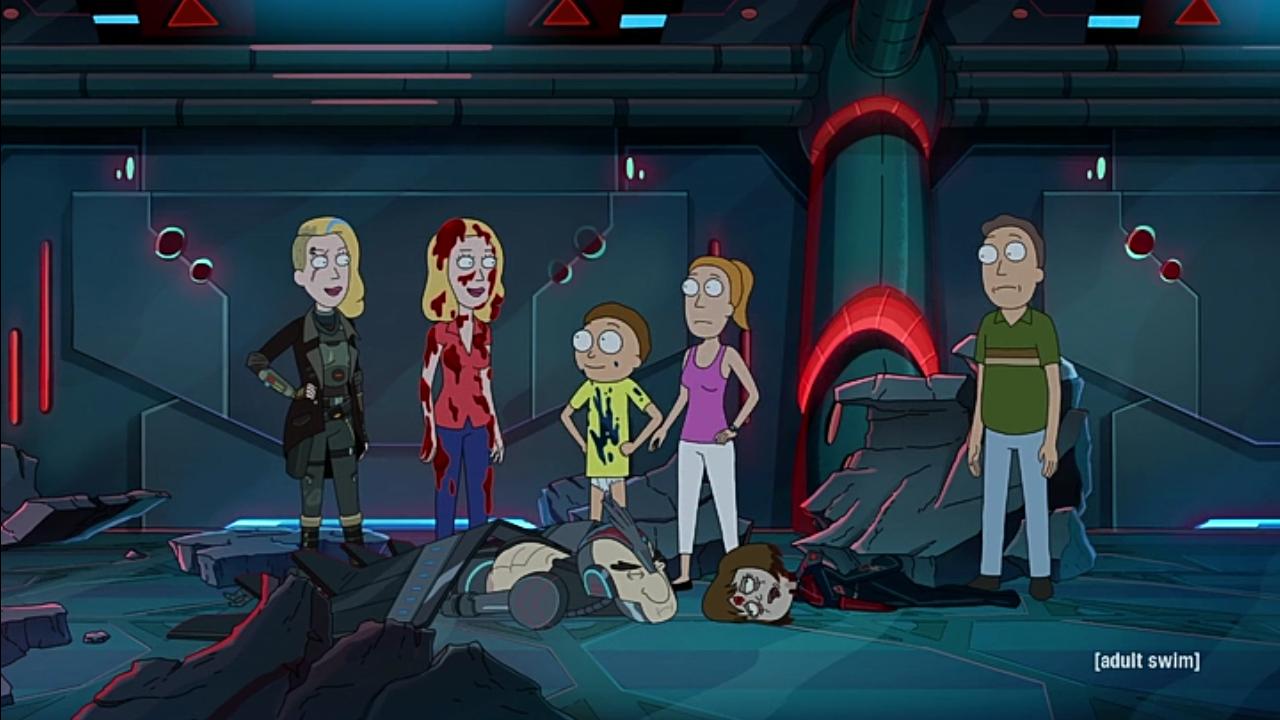 Rick Y Morty El Clon De Beth Rick And Morty