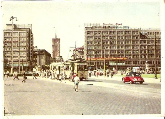 Berlin Alexanderplatz Von Ansichtskarte Plz 10178 Berlin Verlag Felix Setecki Versandantiquariat Dr Wolfh Berlin Geschichte Berlin Hauptstadt Der Ddr