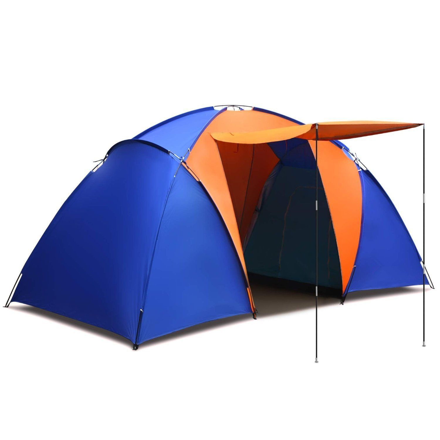 Generic Splicing Color 2 Room 6 Person Waterproof Outdoor C&ing Tent Hiking C&ing Portable Family Tent  sc 1 st  Pinterest & Generic Splicing Color 2 Room 6 Person Waterproof Outdoor Camping ...