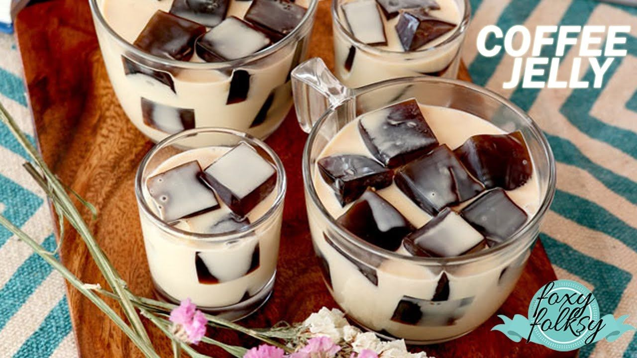 HOW TO MAKE COFFEE JELLY YouTube Coffee jelly, How to