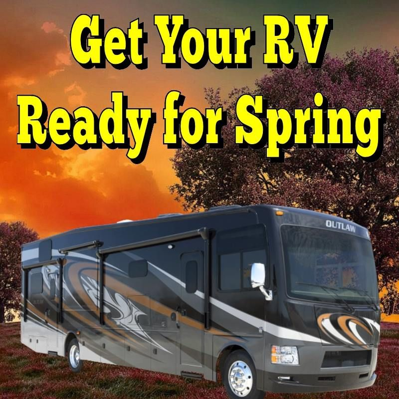 Get Your RV Ready for Spring | 5th wheel travel trailers ...