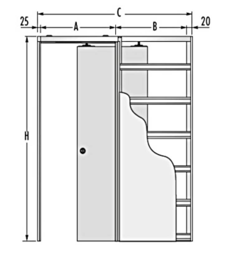 skizze schiebet r mit schiebet rk sten schiebe gleitt ren pinterest skizzen. Black Bedroom Furniture Sets. Home Design Ideas