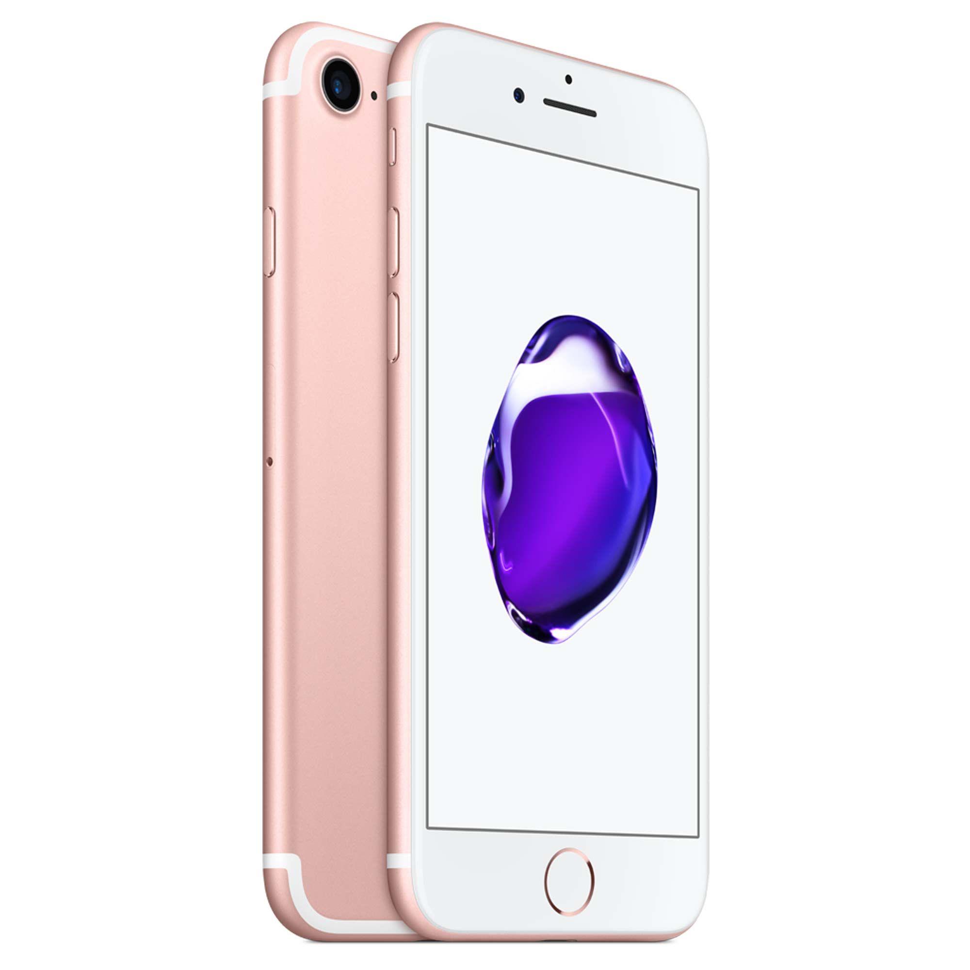 Straight Talk Prepaid Apple Iphone 7 32gb Silver Airtime Bundle