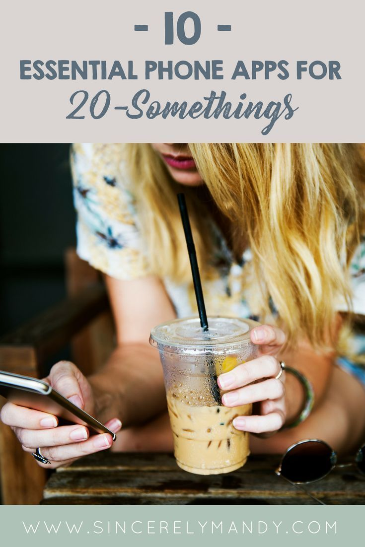 Best apps for 20 somethings