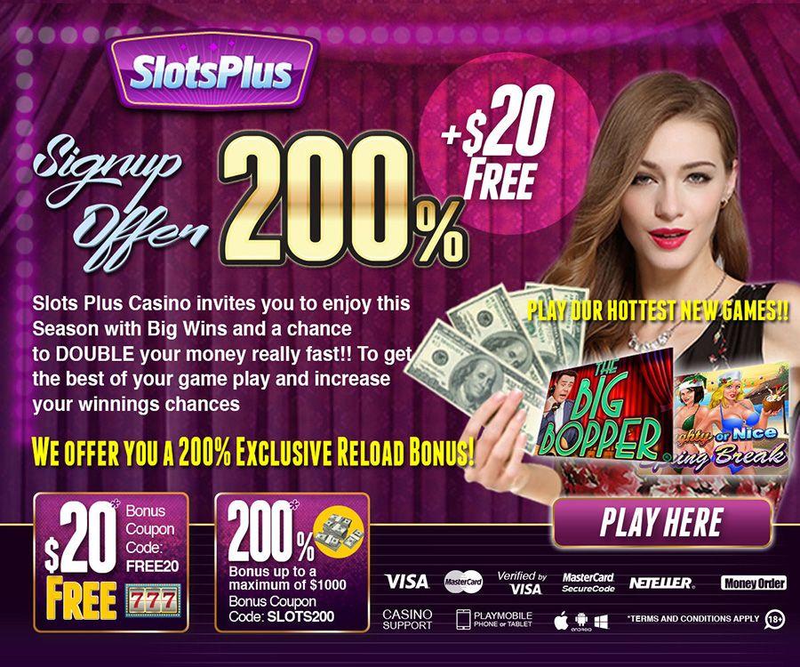 Online casino free 20