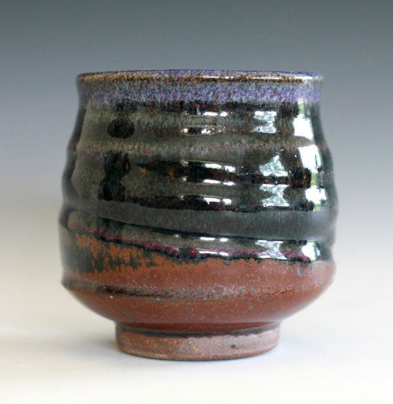 Tea Cup Yunomi Handmade Ceramic Tea Cup Handmade Pottery Ceramic Tea Cup Handmade Ceramics Pottery Cups