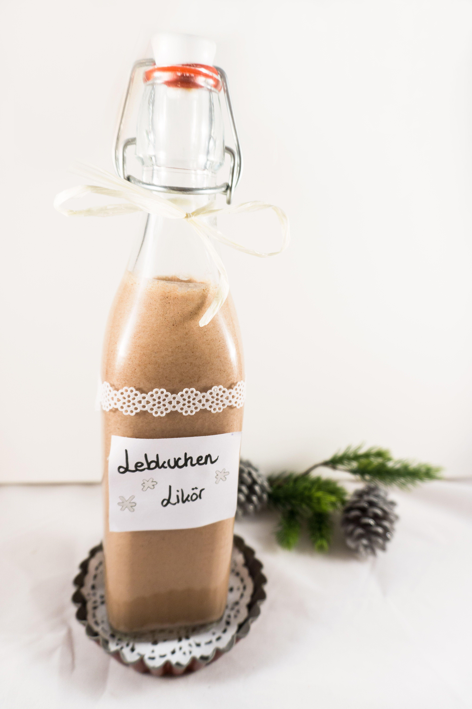 Weihnachtlicher Lebkuchen-Likör   Likörrezepte   Pinterest   Liköre ...