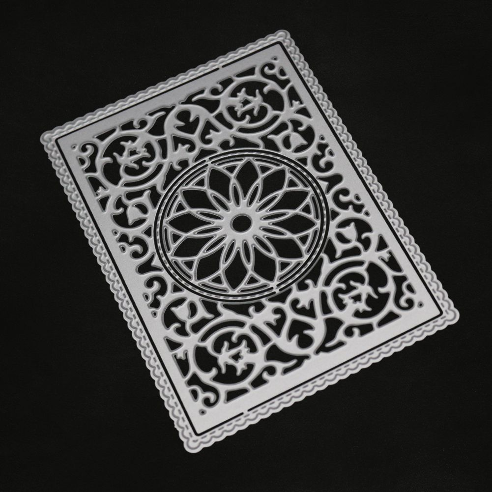Lace Round Metal Cutting Dies Stencil DIY Scrapbooking Card Embossing Decoration