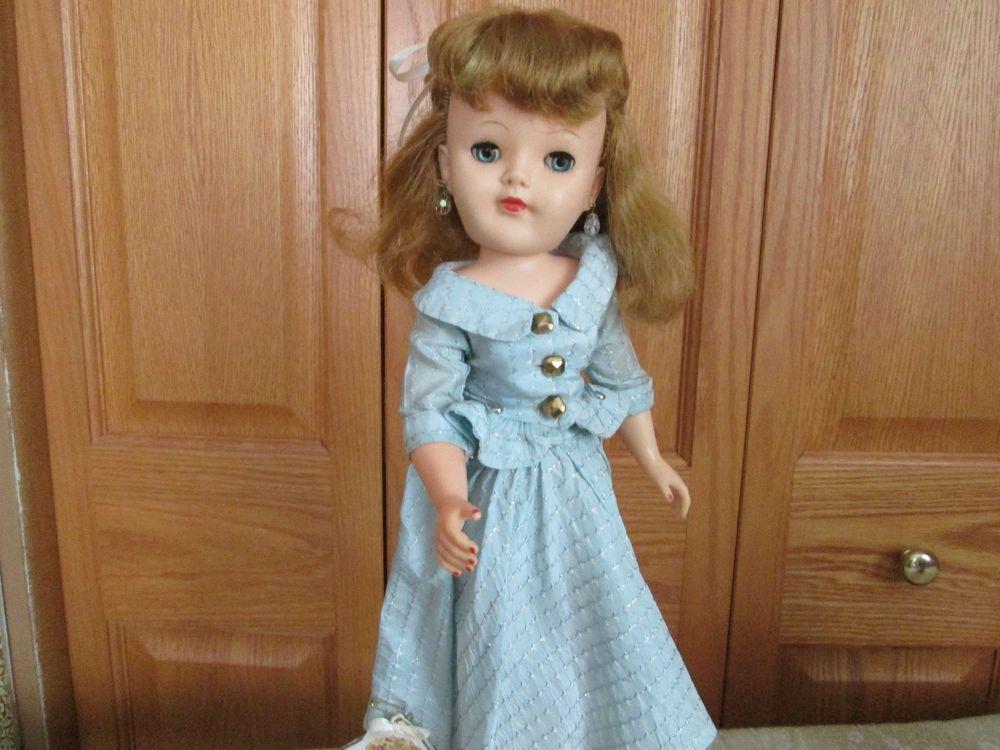 "19"" 1950's Vintage Fashion Doll    Effanbee  (Champagne Lady?) #Effanbee"