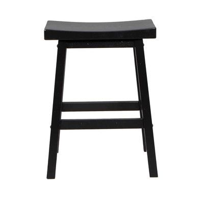 Three Posts Courtdale 24 Quot Bar Stool Products Saddle