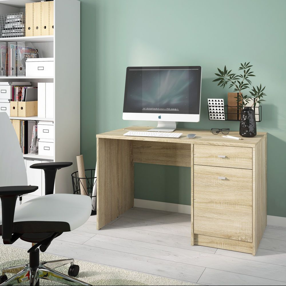 Home Office Desk Computer Pc Writing Dressing Table 1 Door 1