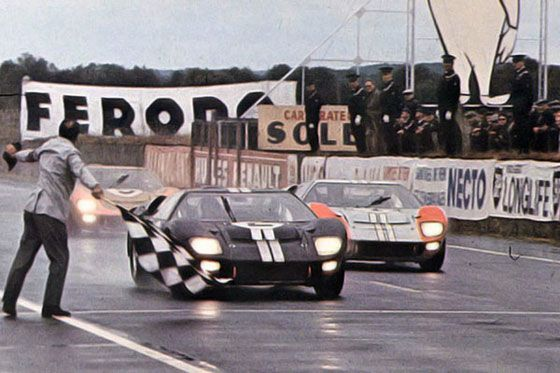 Ford Mkii Nsr 2 24 Heures Du Mans 1966 Ford Gt40 Ford Gt