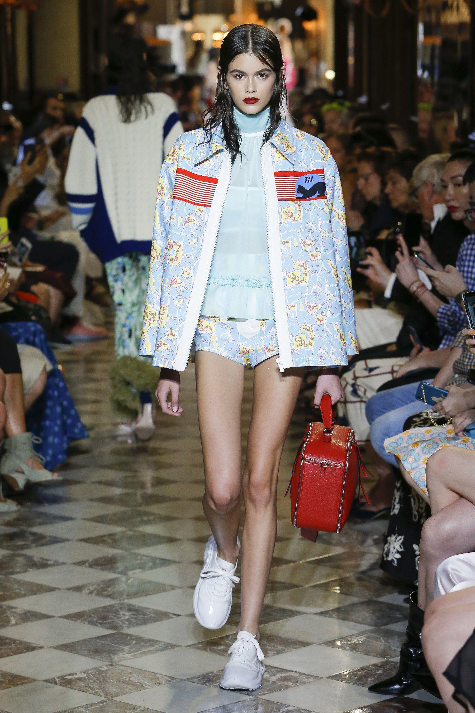 Watch Miu Miu Resort 2019 Collection at Paris Fashion Week video