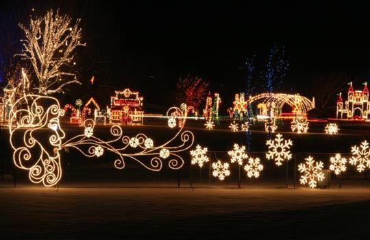 a holiday tradition drive through the spanish fork festival of lights listen to fm to provide the background music - Spanish Fork Christmas Lights