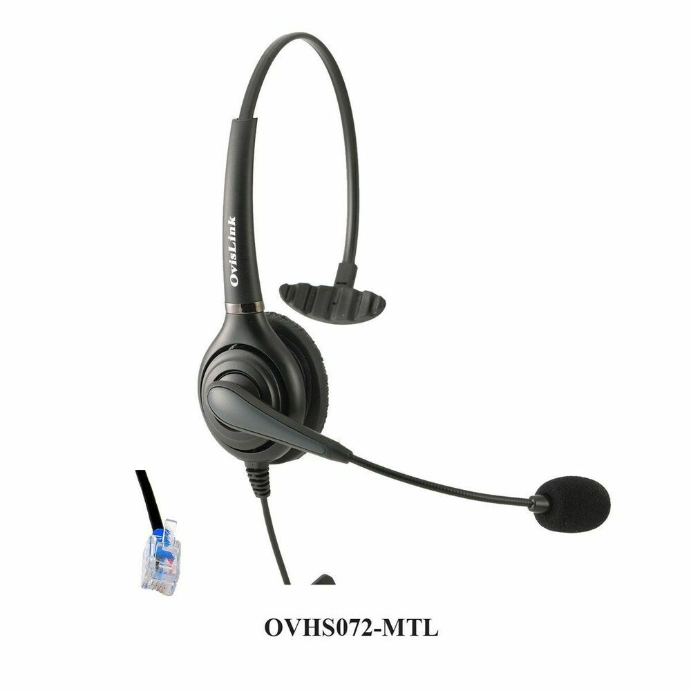 OvisLink Call Center Headset for Mitel Business Phones