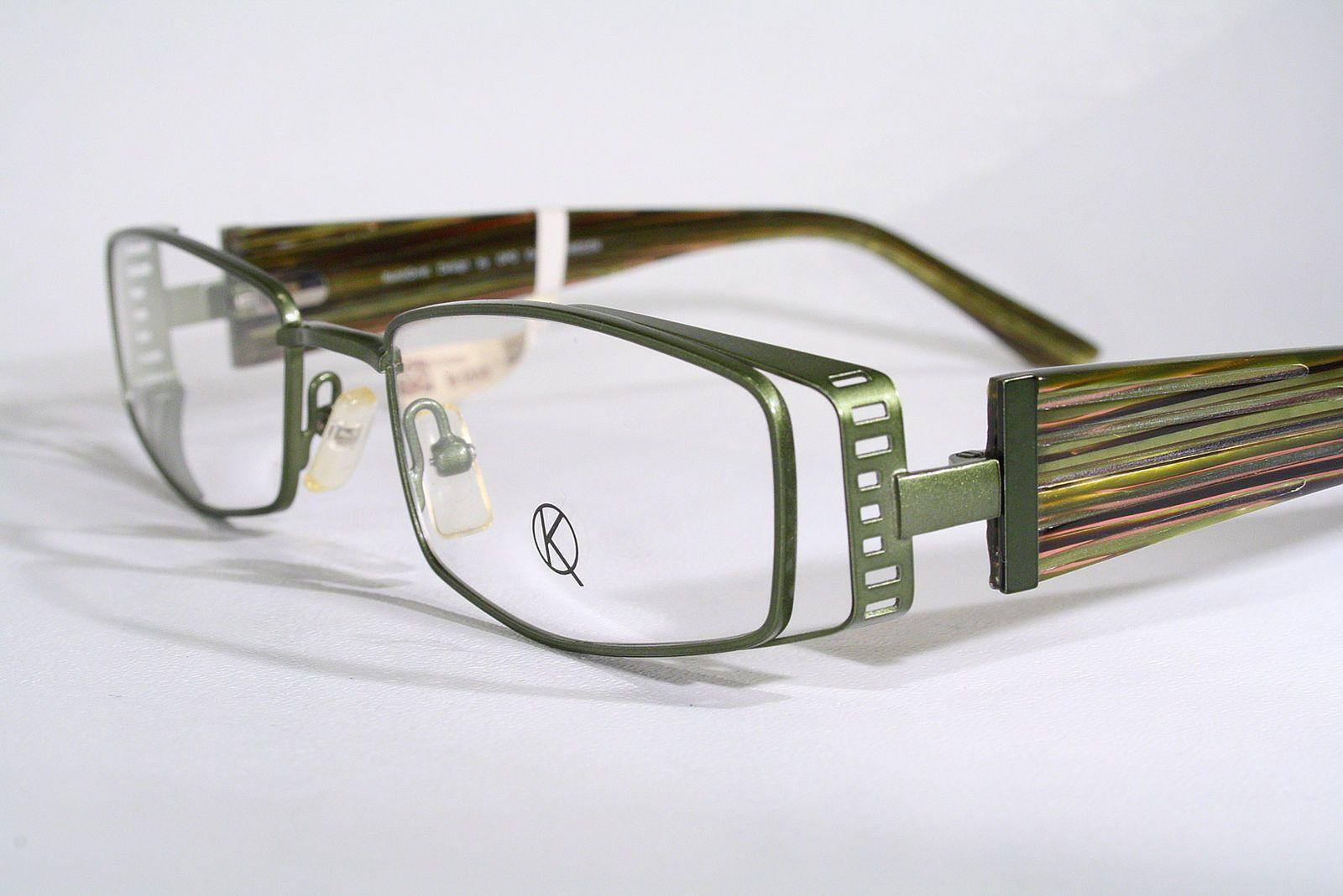 KUNOQVIST New Unique Swedish Design Green Men\'s Women\'s Eyeglass ...