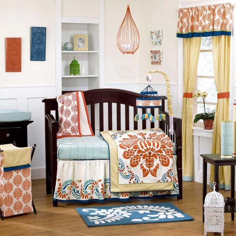 surie 4 piece baby crib bedding set by cocalo couture image