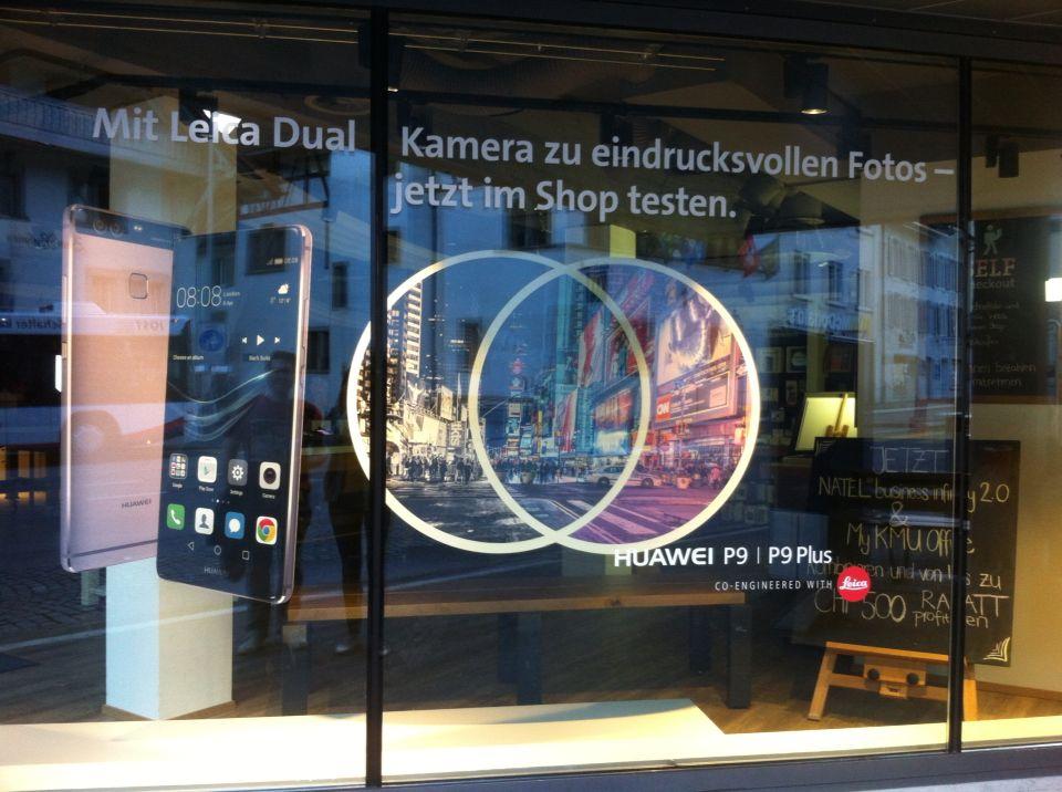 Tienda de teléfonos también pueden hacer visual merchandising