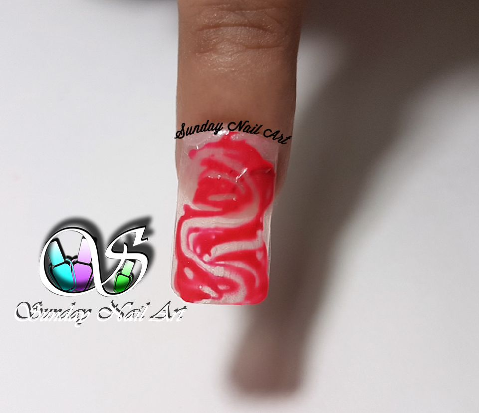 Nail Art Using Wooden Stick By Sunday Nail Art Video On Youtube