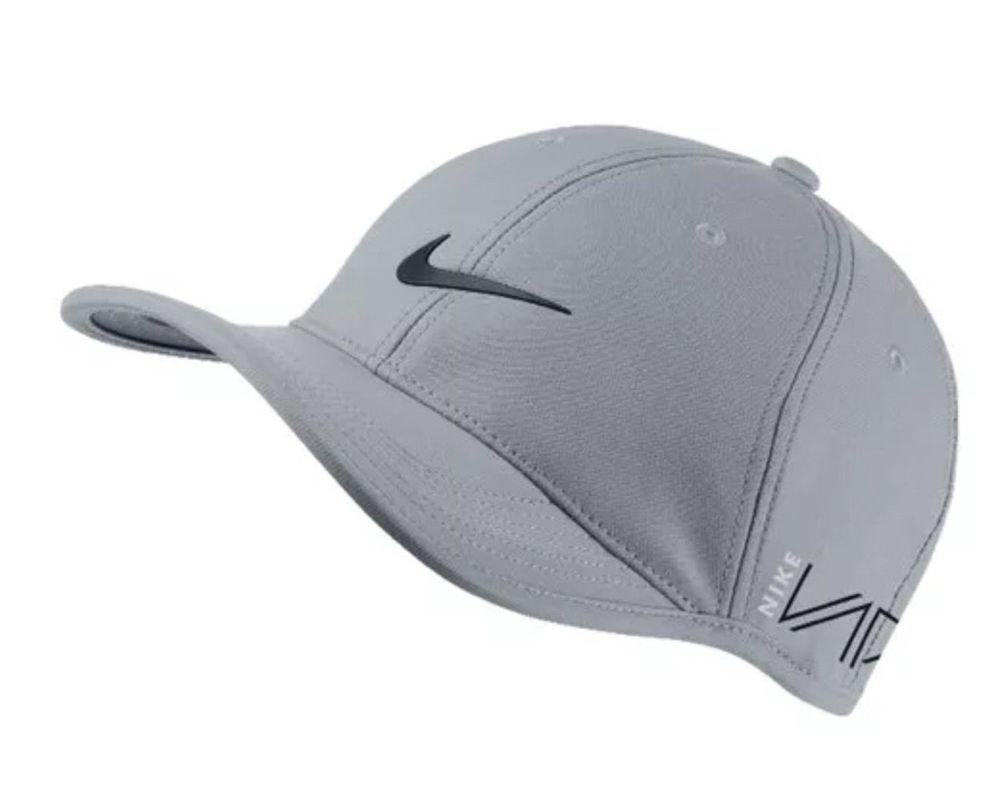 37b551dcf31cc NIKE® GOLF Tour Legacy RZN Vapor Wolf Grey Black Hat Cap OSFM 639673-012  NEW   Nike