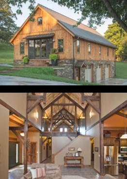Barn Home Examples Rumah
