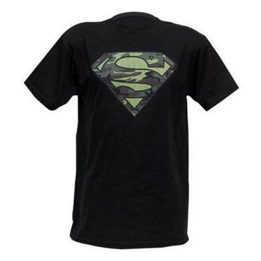 Superman Camouflage Logo