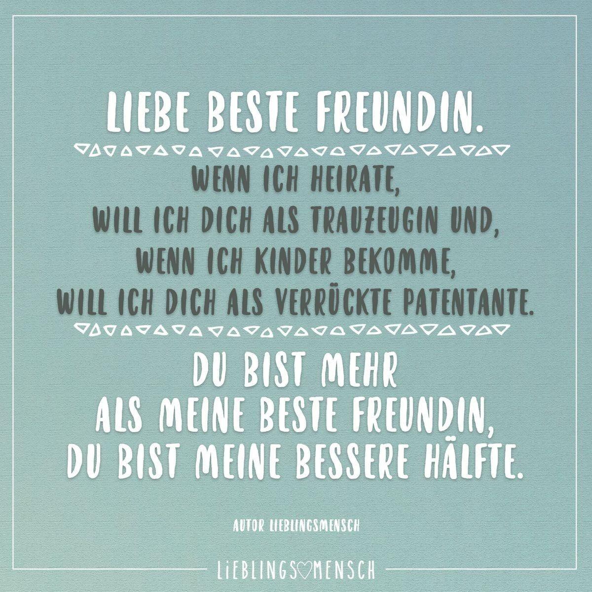 Pin Von Sunny Aardbei Auf Spruche Zitate Zum Thema Freundschaft Lustige Freundschaftszitate Geburtstagswunsche Beste Freundin