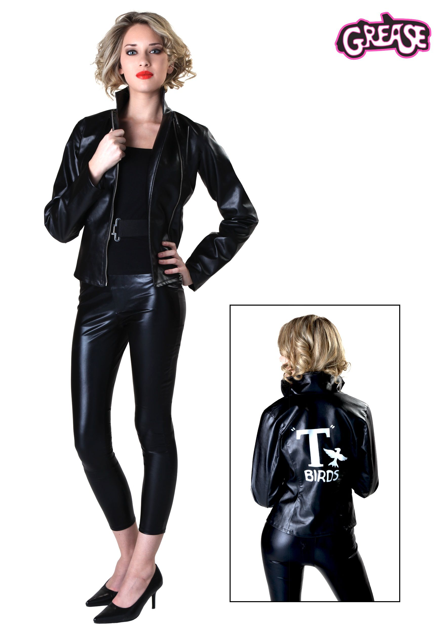 81af17cc32d75 Women's Grease T-Birds Jacket | Halloween/fall | Grease costumes ...