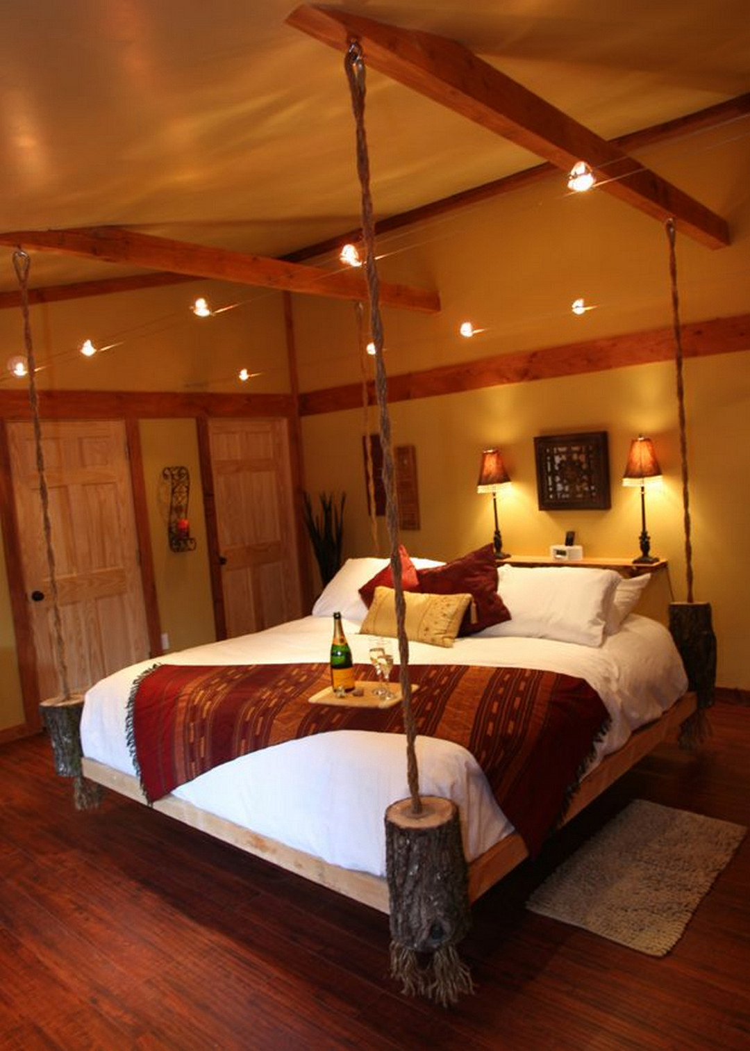 70 Amazing Hanging Bed Designs Build Hanging Bed Bed