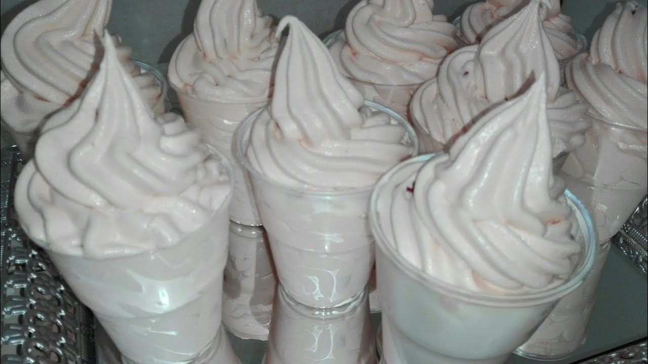 ايس كريم 3 مكونات فقط اصنعي المثلجات بالمنزل وصفة ناجحة تبرد القلب مع ال Desserts Food Ice Cream