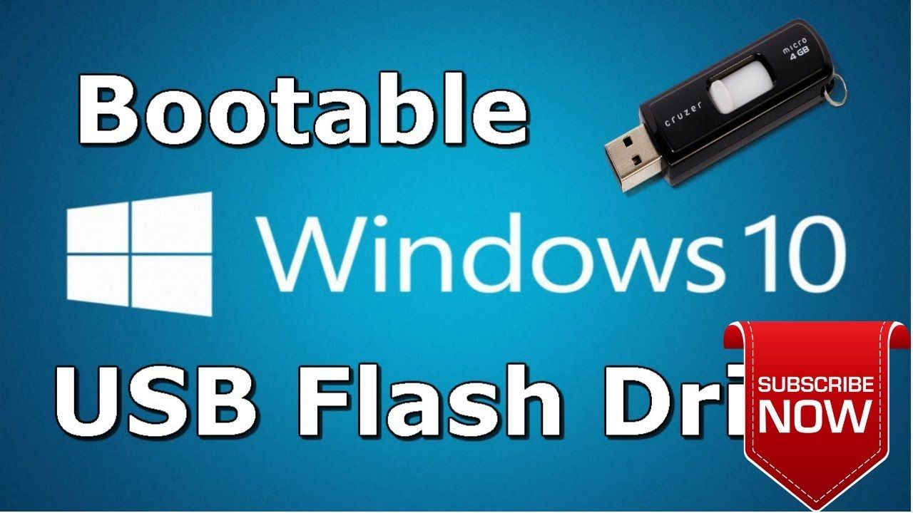 How To Boot And Set Up Windows 10 Windows 10 Usb