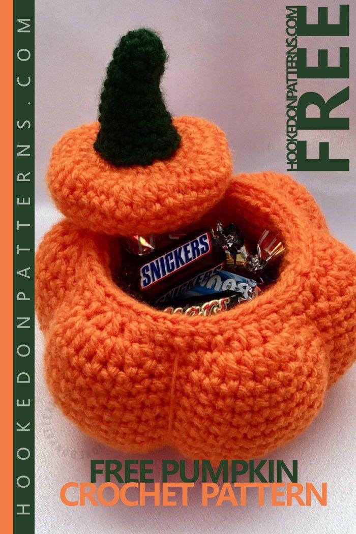 Free Crochet Pumpkin Pots Pattern   amigurumi   Pinterest   Häkeln ...