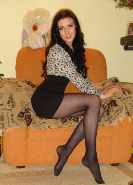 At Hot Pantyhose Girls Lady
