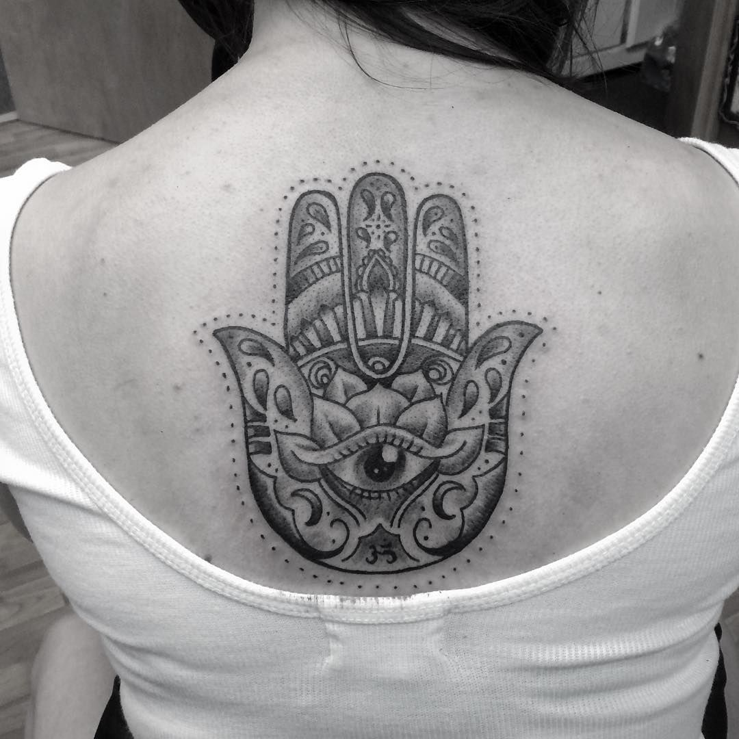 55 Spiritual Hamsa Tattoo Meaning And Designs Symbol Of Protection
