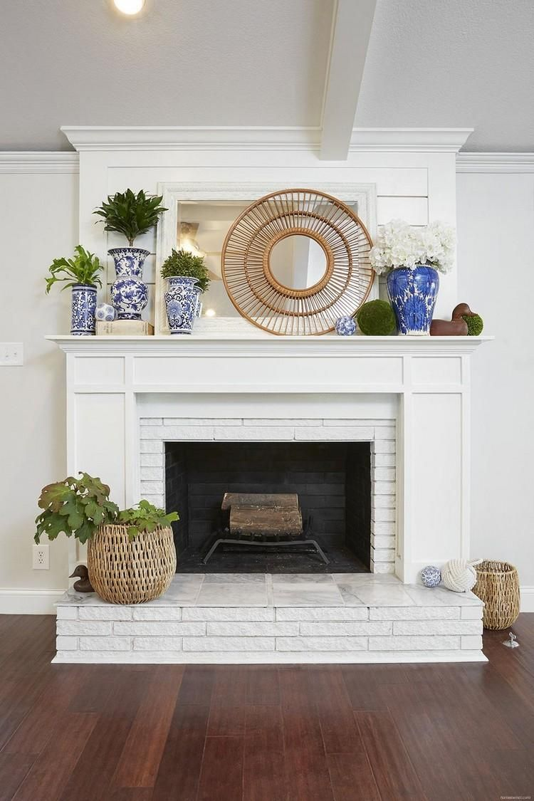 80+ Modern Rustic Painted Brick Fireplaces Inspirations is part of White brick fireplace, Brick fireplace remodel, Fireplace hearth decor, Hearth decor, Painted brick fireplaces, Fireplace remodel - Among the many absolute most lovely designs are carved with wood and bricks which have a conventional enchantment  You might uncover that it's cheaper to rent a sand blaster man and he'll convey once more the great thing about the earlier brick  And if you end up drained attempting in its common brick finish, it's     Read more80+ Modern Rustic Painted Brick Fireplaces Inspirations