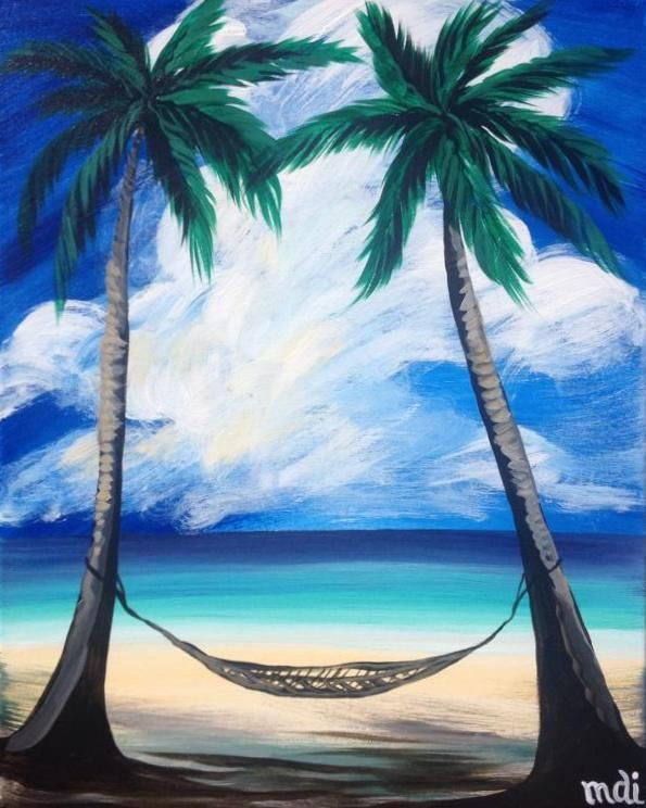 Island Vacation From Vino S Picasso Acrylic Canvas Painting Ocean Painting Art Painting Beach Painting