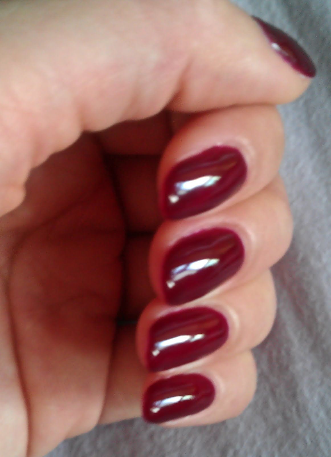 The Clover Beauty Inn: *Updated* Gelish - Black Cherry Berry ...
