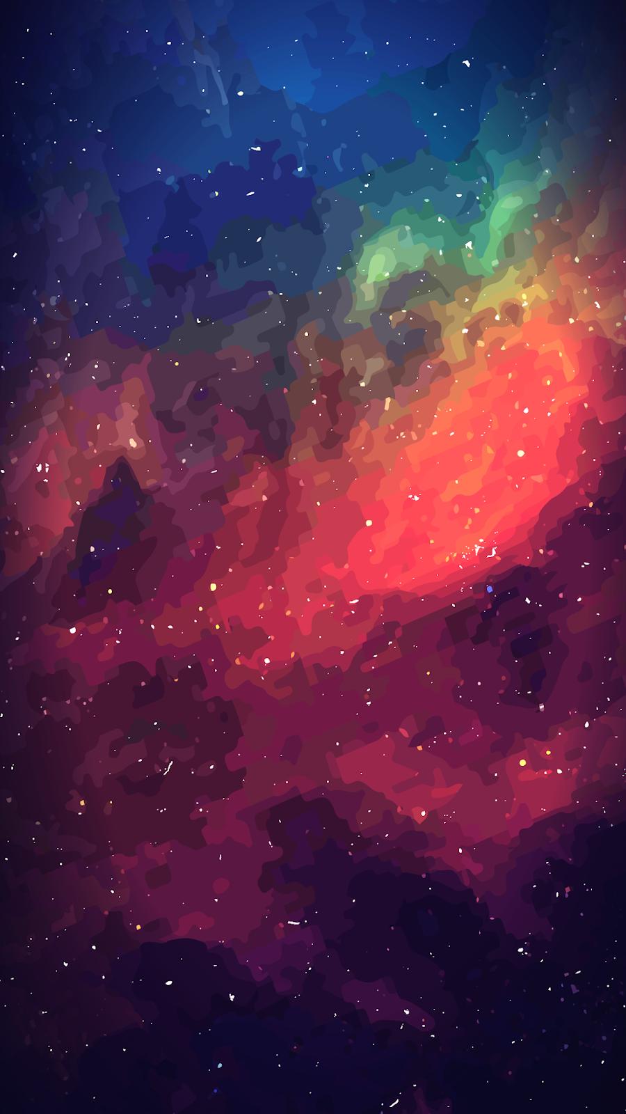 Space by EvgeniyZemelko (iPhone X/XS/XR/XSMAX) Screen